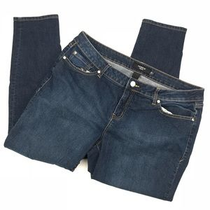 NWOT Torrid Denim Skinny Jeans 18S Short Dark Wash